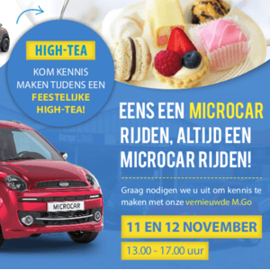 Introductieshow met High-Tea