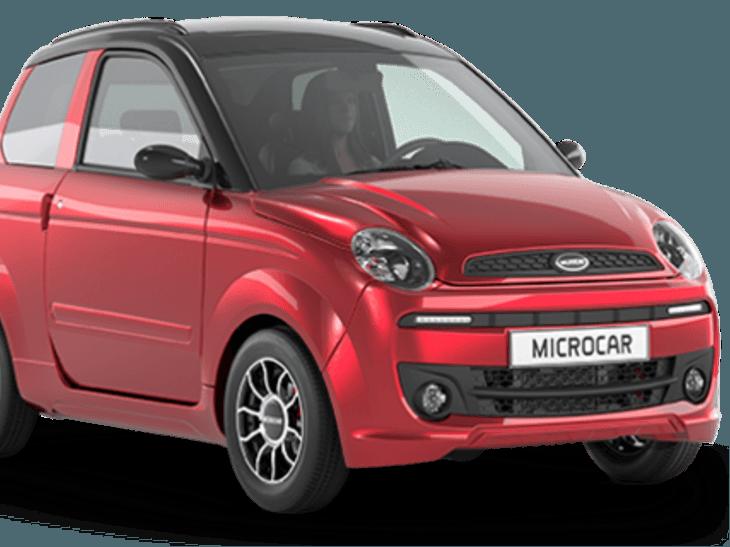 Microcar M.Go Premium in het rood
