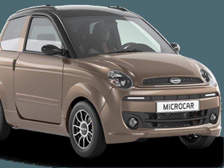 Microcar M.Go Premium in het bronze