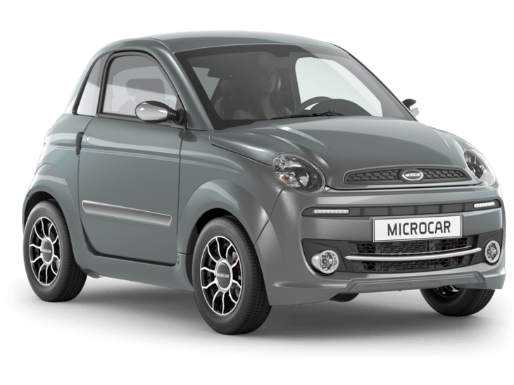 Microcar Due Premium antraciet