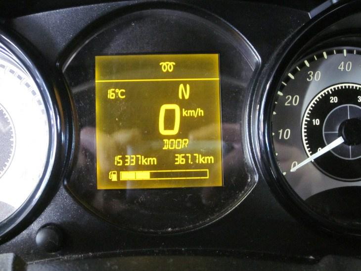 Microcar MGo Premium km-stand